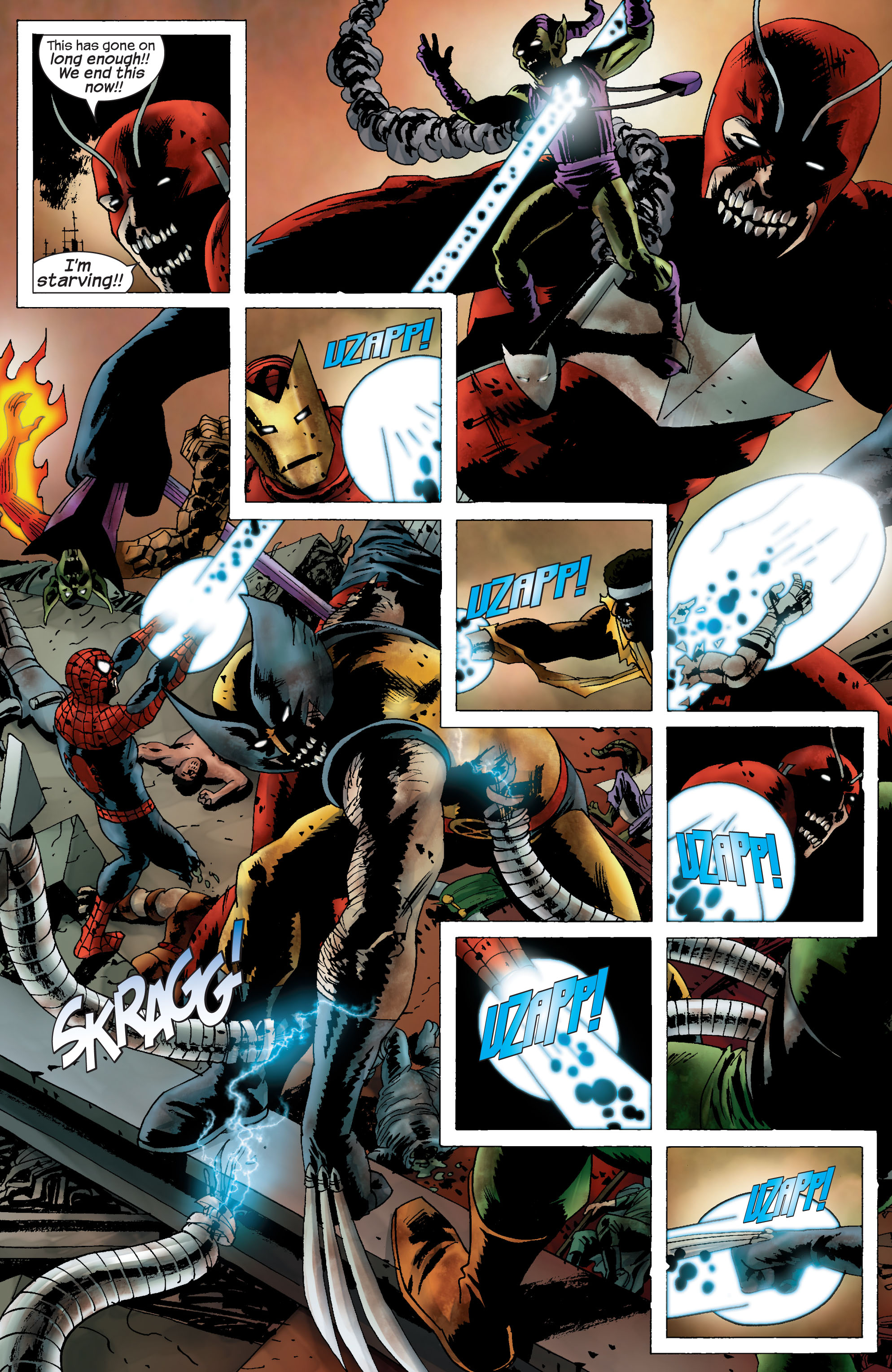 Marvel Zombies (2006) Issue #5 #5 - English 11