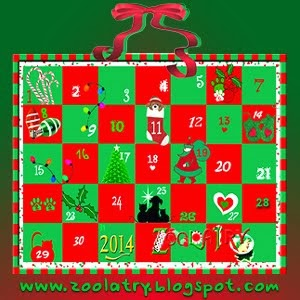 ZOOLATRY ADVENT CALENDAR 2013