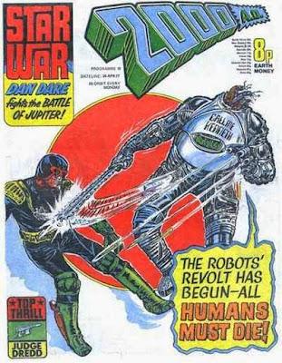 2000 AD #10, Judge Dredd