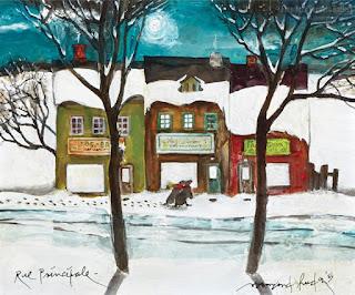 """Normand Hudon - """"Rue Principale"""" (1989)"""