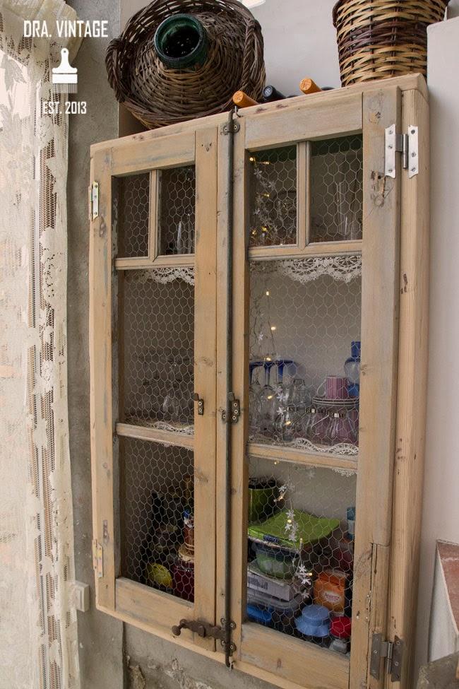 Decoraci n vintage restauraci n y recuperaci n vintage for Alacenas vintage