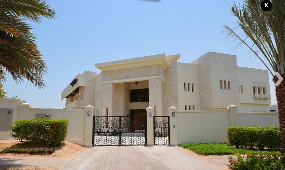 The mind for design 2015 million 23 900 square foot mega villa in dubai uae Home of architecture planning uae