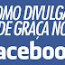 Como fazer anuncio no facebook de Graça?