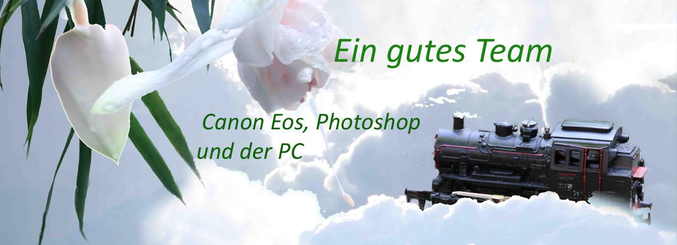 Canon EOS, Adobe Photoshop  Elements und der PC - ein gutes Team