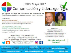 Taller CYL: Sábado 20 Mayo 2017