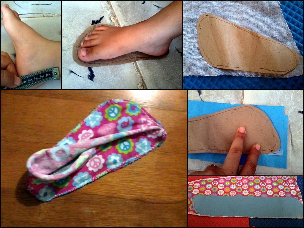 Como Hacer Pantuflas Para Bebe