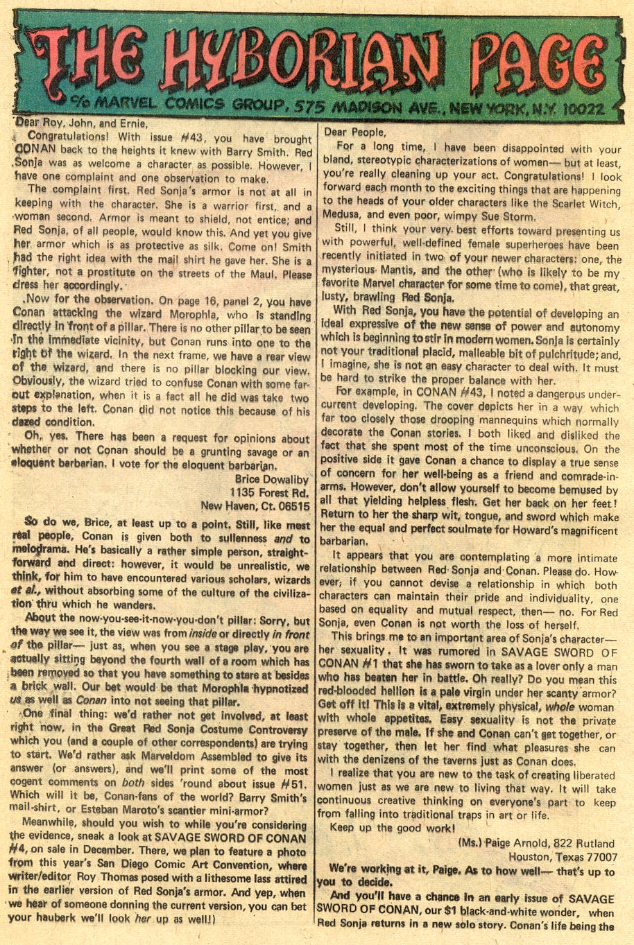 Conan the Barbarian (1970) Issue #47 #59 - English 21