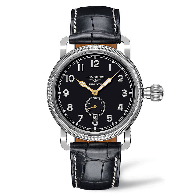 Longines Avigation Oversize Crown Watch