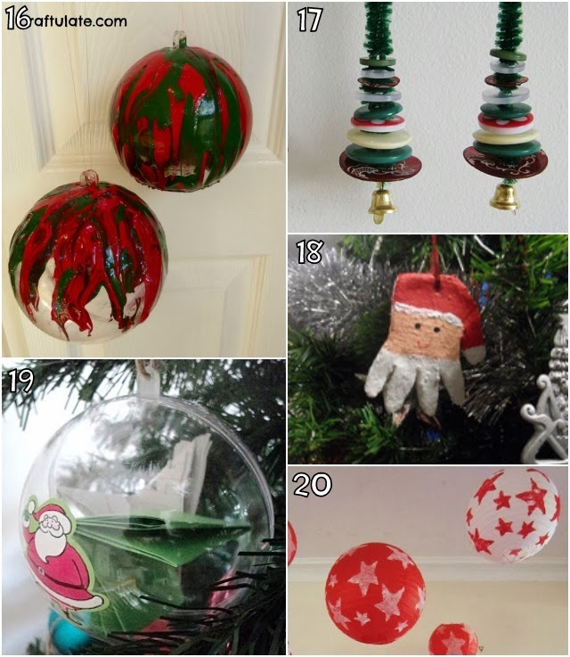 Learn With Play At Home: 26 Christmas Decorations Kids Can