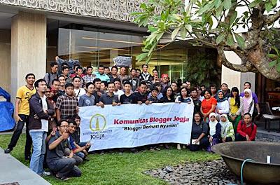 Kopdar Komunitas Blogger Jogja (KBJ) di Hotel Grand Aston Yogyakarta