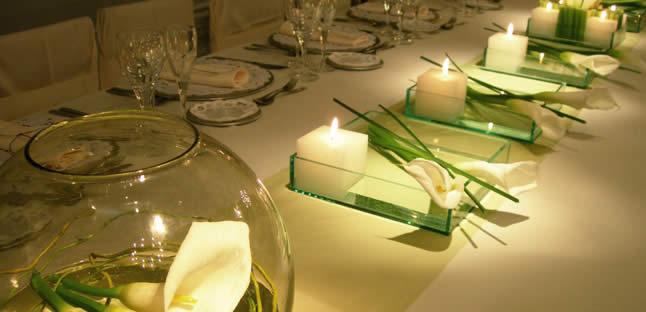 Las velas, un aliado imprescindible en la decoración de eventos, por Olga Casal
