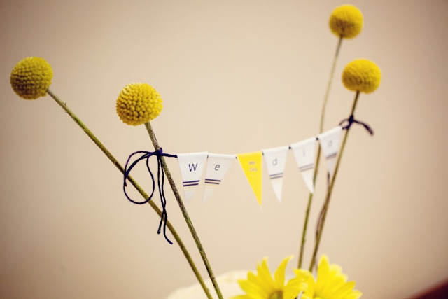 Wedding Cake Bunting with Crespedia Flowers