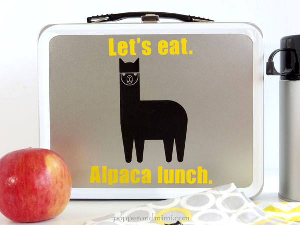 Alpaca Lunch Box