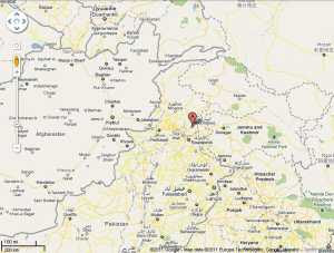 Bin Laden lugar dónde murió en Google Maps
