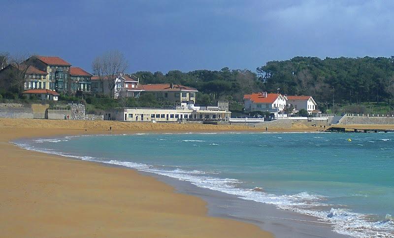 Playa de la Magdalena en Santander