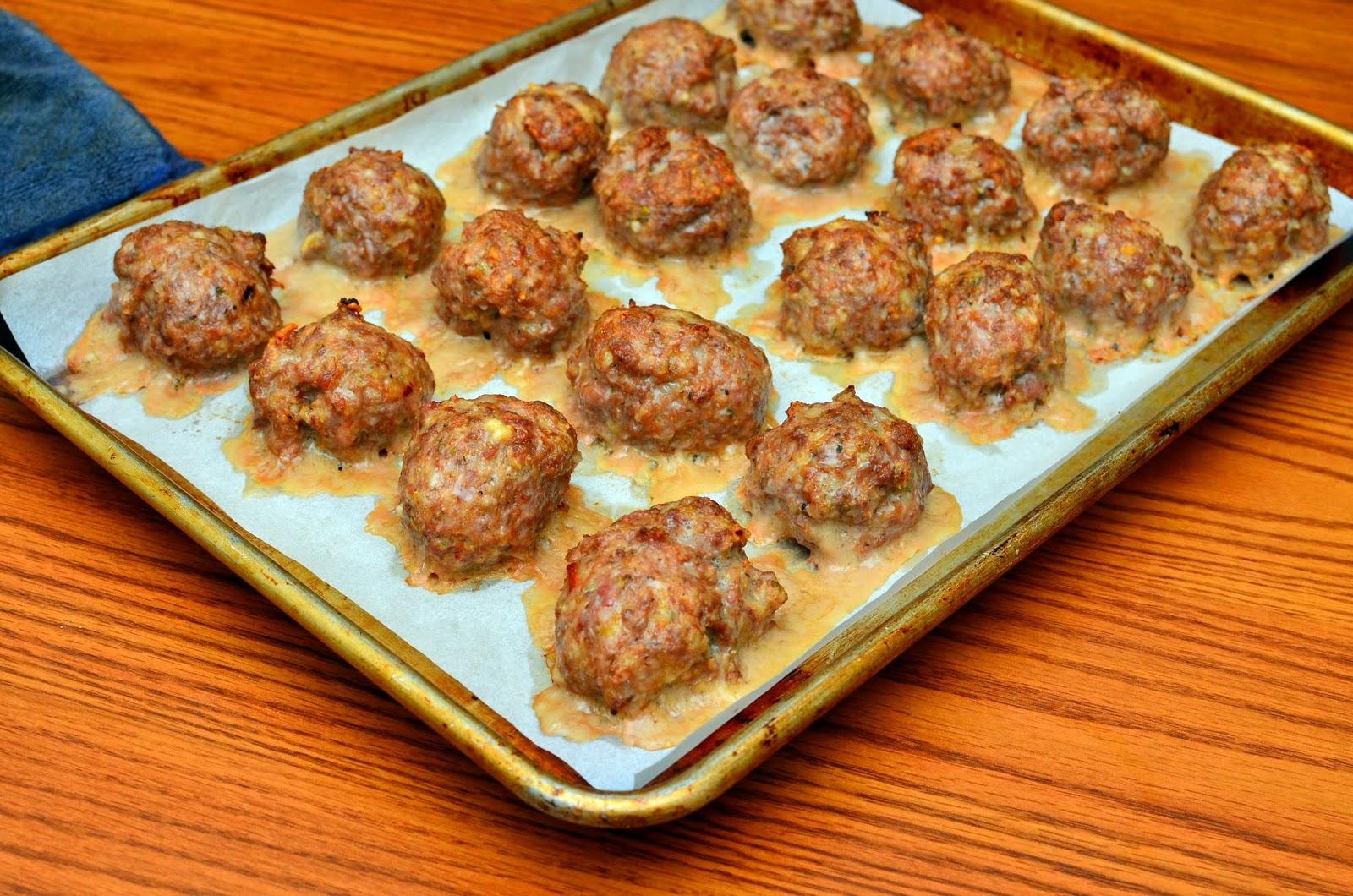 baked italian meatballs dad cooks dinner. Black Bedroom Furniture Sets. Home Design Ideas