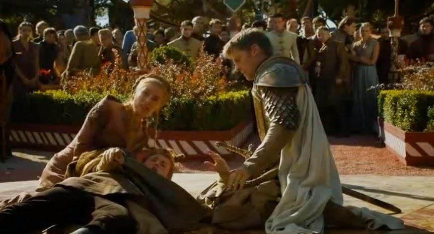 Joffrey muere asfixiado - Juego de Tronos en los siete reinos