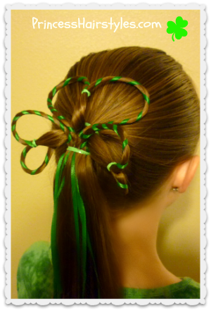 Three Leaf Clover Hairstyle