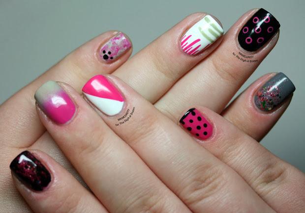 dozen. easy nail art patterns