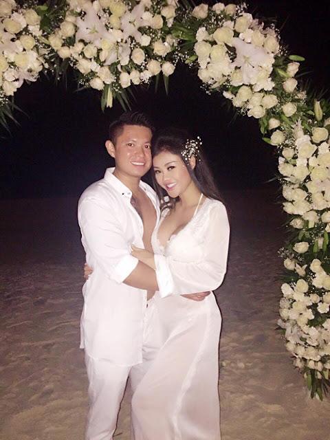 Một người bạn của Julia Hồ tiết lộ, ông xã cô là một Việt kiều Mỹ, tên Jimmy Trương, 35 tuổi