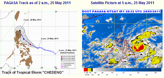 bagyong chedeng latest update
