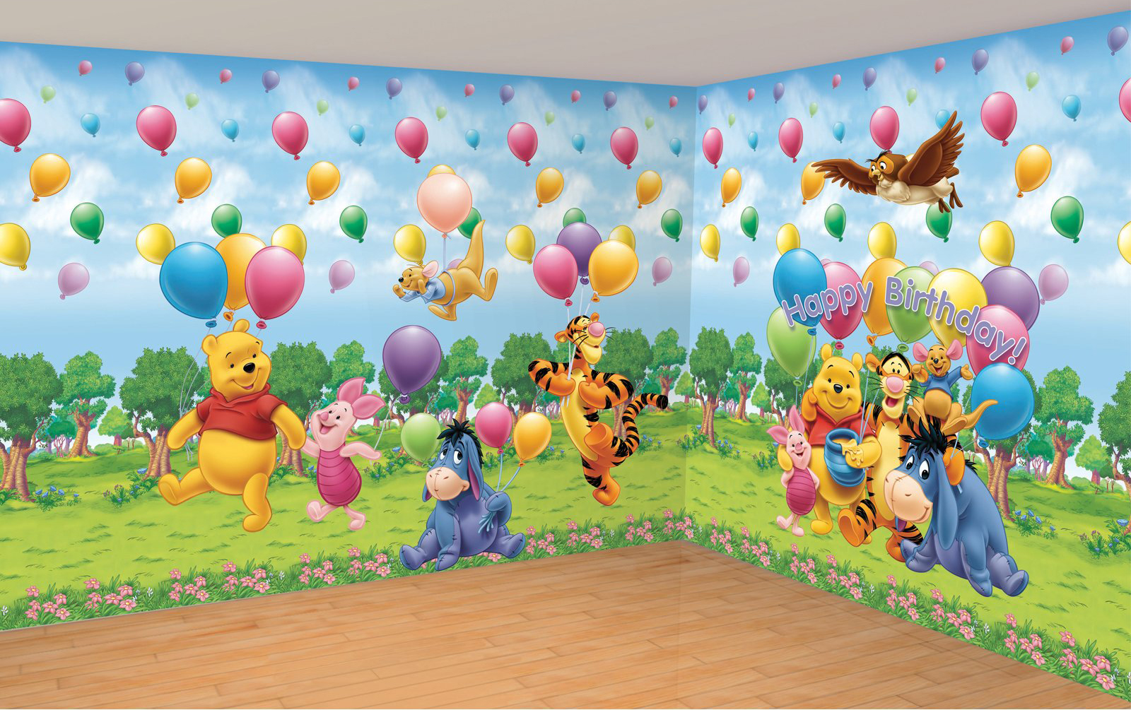 Childrens Wallpaper Winnie The Pooh 1