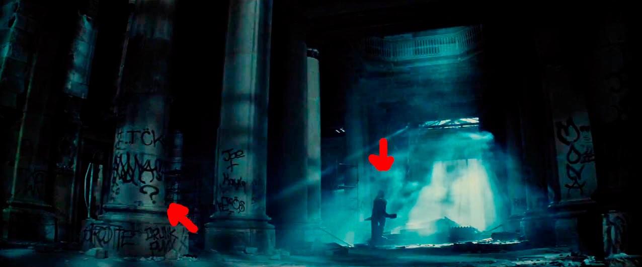 El Acertijo en el tráiler de Batman V Superman