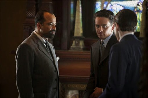 Luciano y el Doctor negocian en el s05e03 de Boardwalk Empire, de HBO