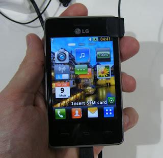 LG T385, un móvil de gama baja con Wi-Fi