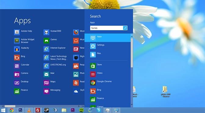 windows 8.1 start menu replacement