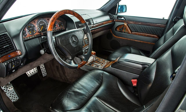 w140 amg interior