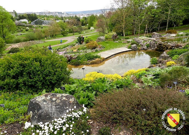 Patrimoine de lorraine villers les nancy 54 le jardin for Jardin botanique nancy
