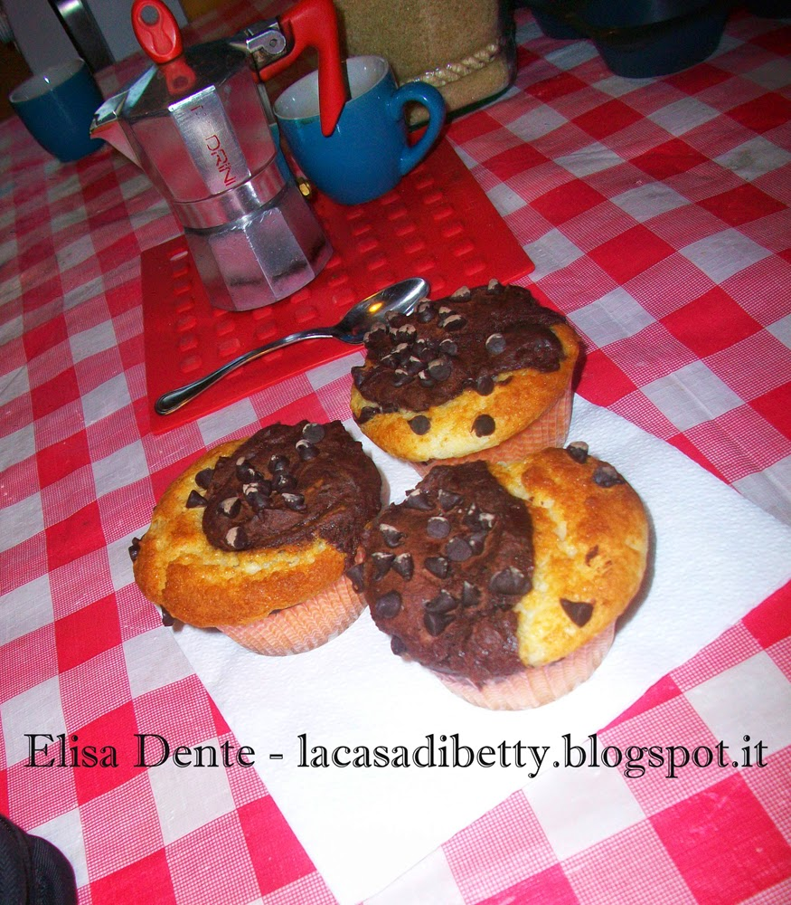 [dolci senza] muffins bicolore senza uova e senza burro