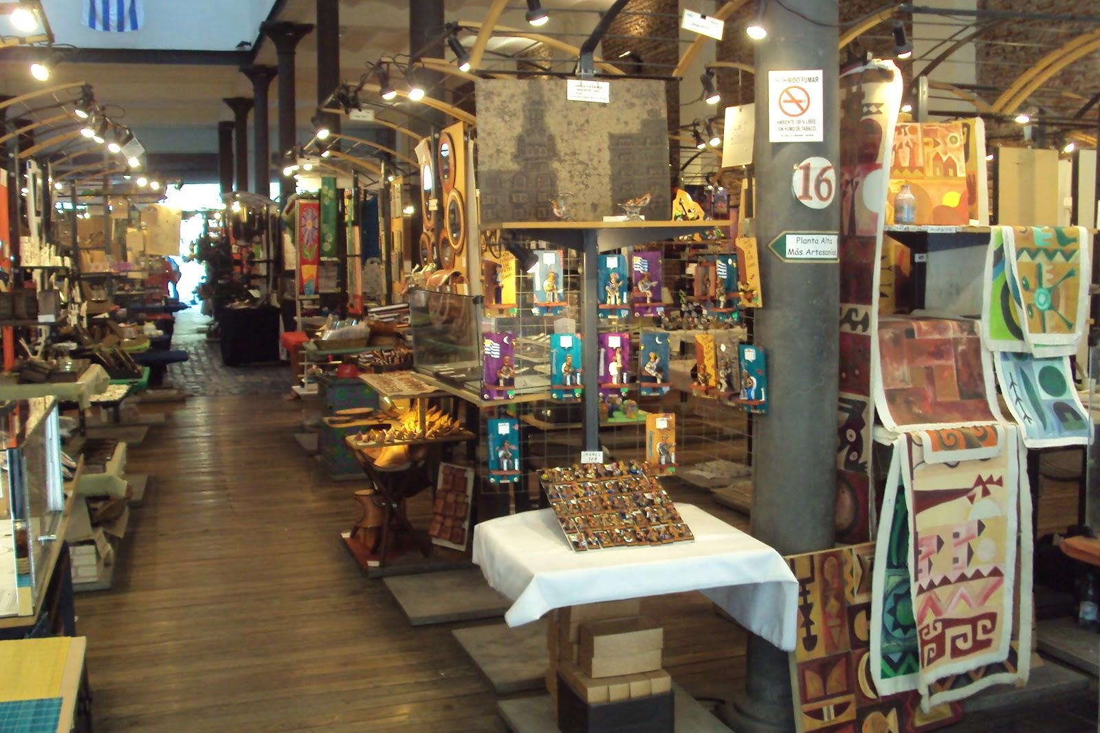 Mercado dos Artes u00e3os em Montevidéu Uruguai por uma brasileira