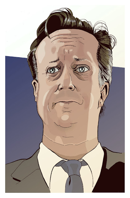 David Cameron Illustration