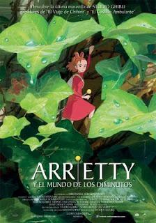 crítica de arrietty y el mundo de los diminutos
