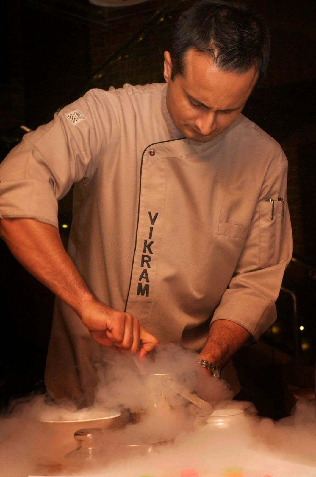 A dessert night with Chef Vikram