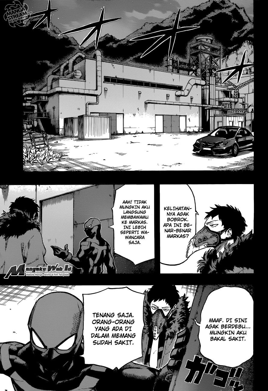 Boku no Hero Academia Chapter 125-2
