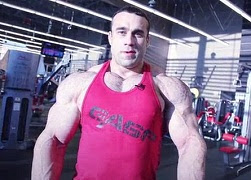 Russian bodybuilder Sergey Bazarov. Preparation for the Arnold Classic 2012