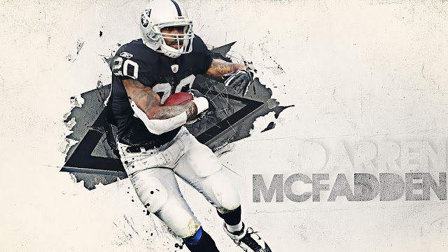 Darren Dalton HD Wallpapers Darren McFadden Oakland Raiders HD Quality NFL Wallpaper