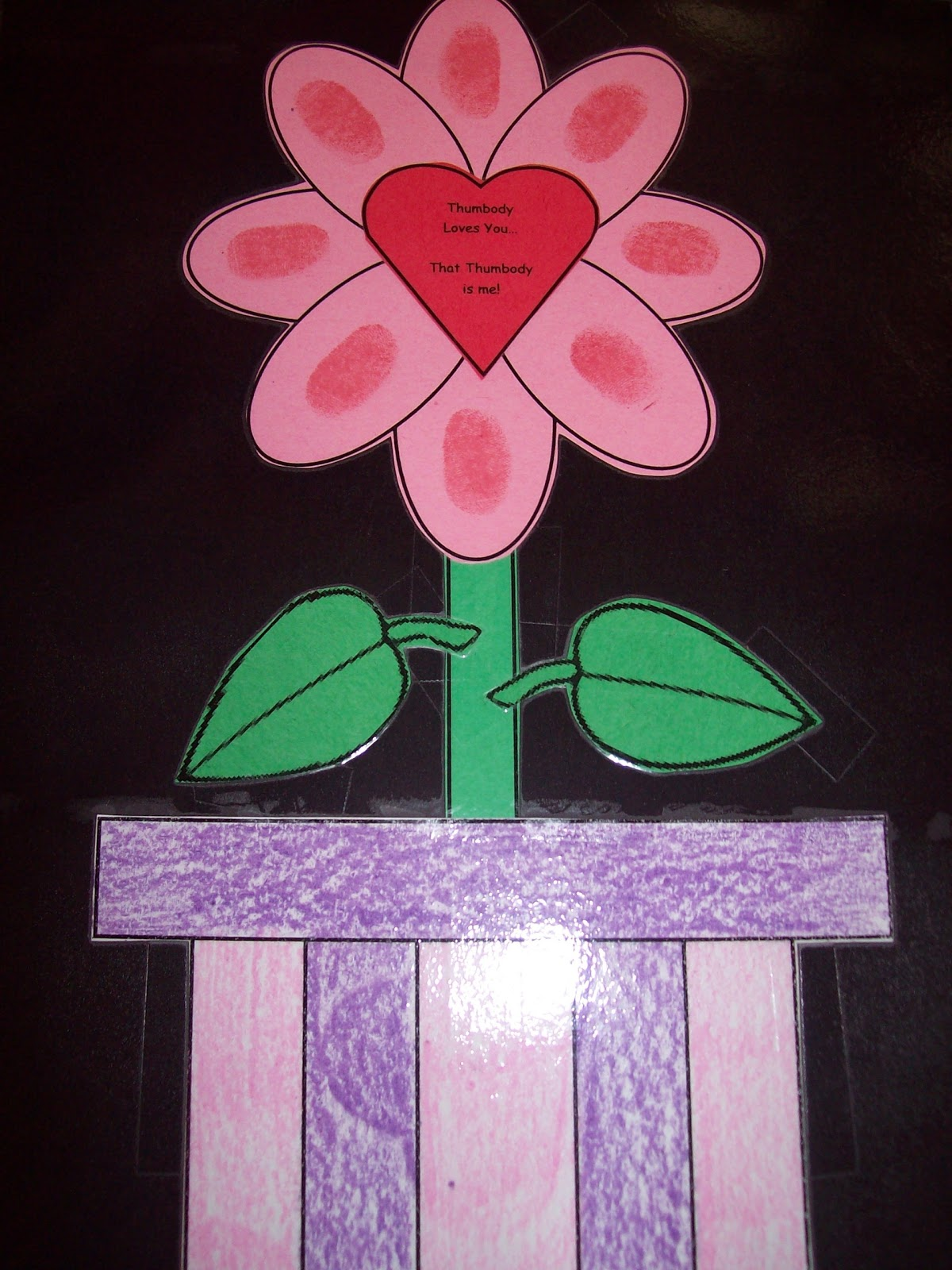 Preschool crafts for kids valentine 39 s day flower gift craft for Valentine crafts for preschool