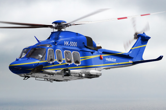 La compañía colombiana Helistar, recibirá próximamente cuatro helicópteros fabricados por la empresa europea AgustaWestland. Se trata de 3 helicópteros medianos AW139 y uno súper-mediano AW189.