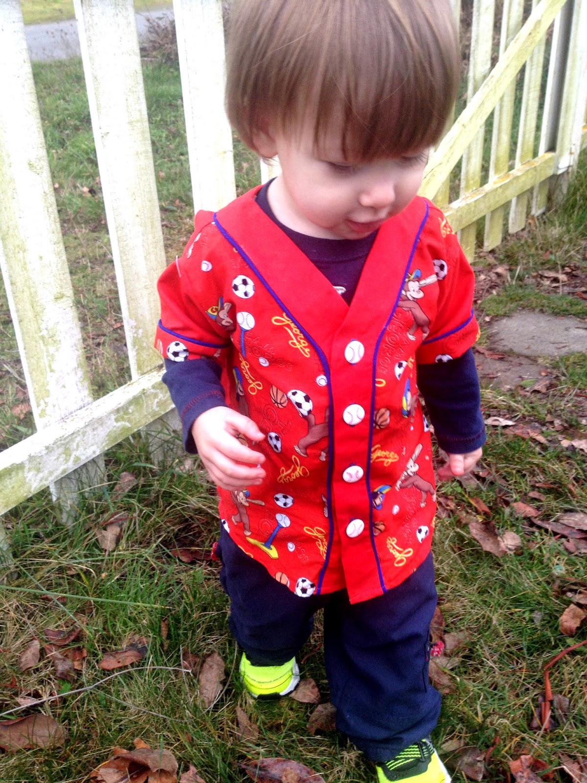 Old Tyme BaseNall Shirt  from Dandelions and Dungarees by Keep Calm and Carrion