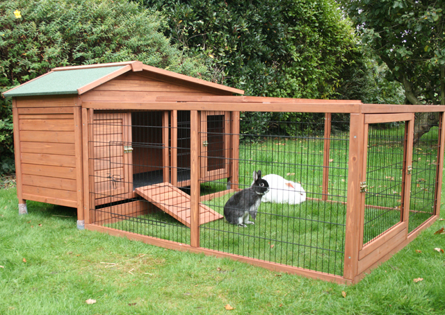 Cage Outdoor Rabbit Hutch