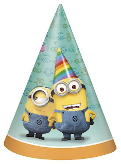 minion birthday party hats