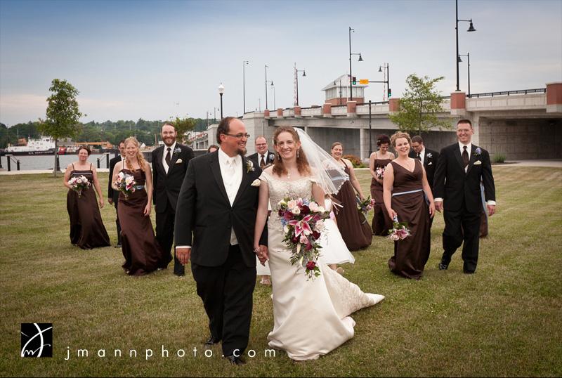 Door County Wedding, Sturgeon Bay Waterfront
