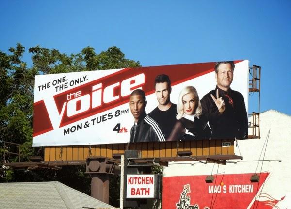 Voice season 7 Pharrell Gwen Stefani billboard
