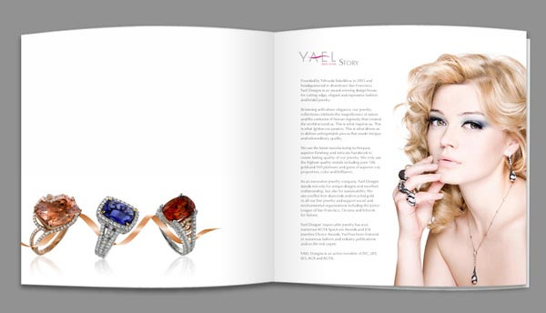 Elegant Jewelry Catalogue  Brochure Designs  JayceOYesta