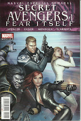 Fear Itself • Secret Avengers 1