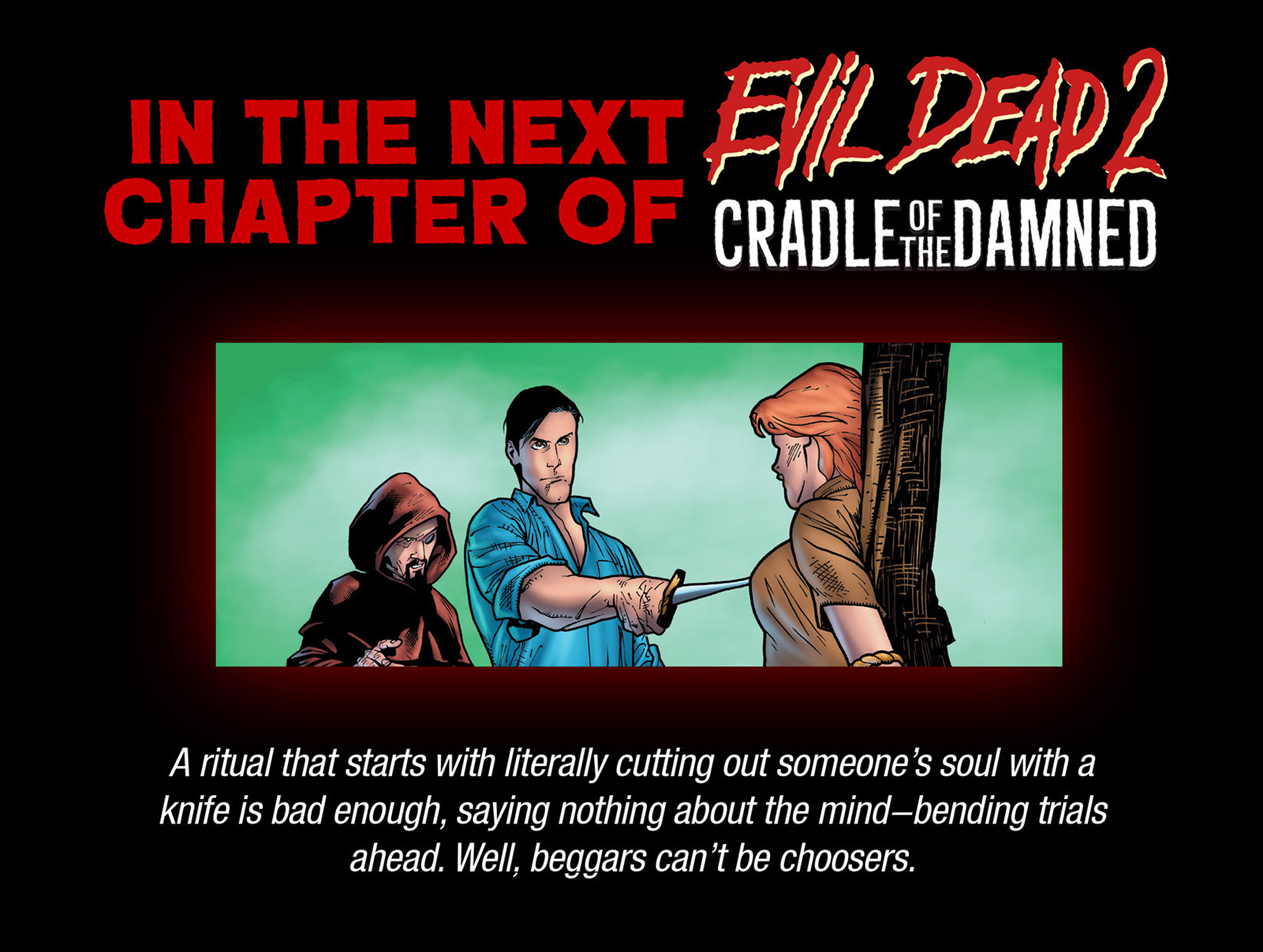 Read online Evil Dead 2: Cradle of the Damned comic -  Issue #4 - 24